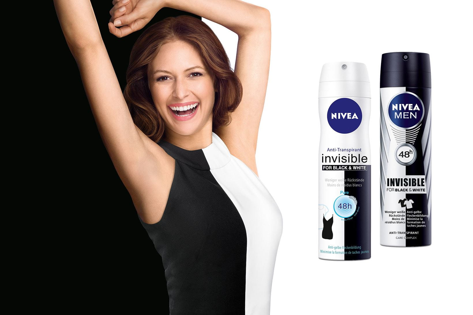 Innovation NIVEA Deodorant Black & White