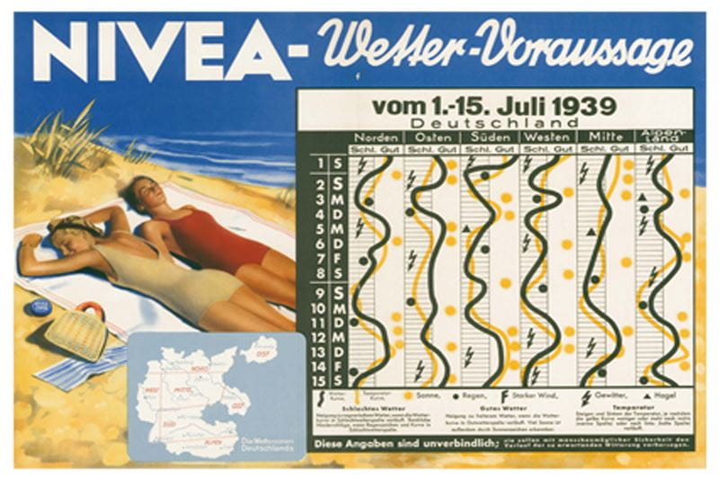 NIVEA brand history Weather