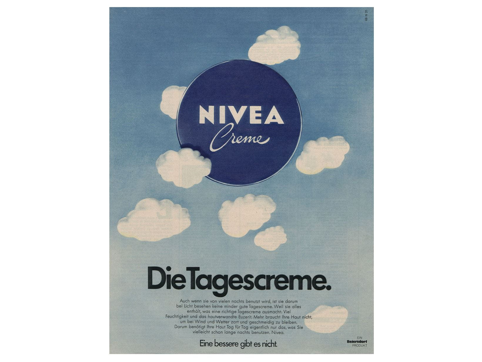 NIVEA advertisement from 1973: The day cream